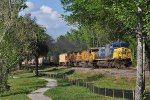CSX Lacoochie Grain Train G296-17