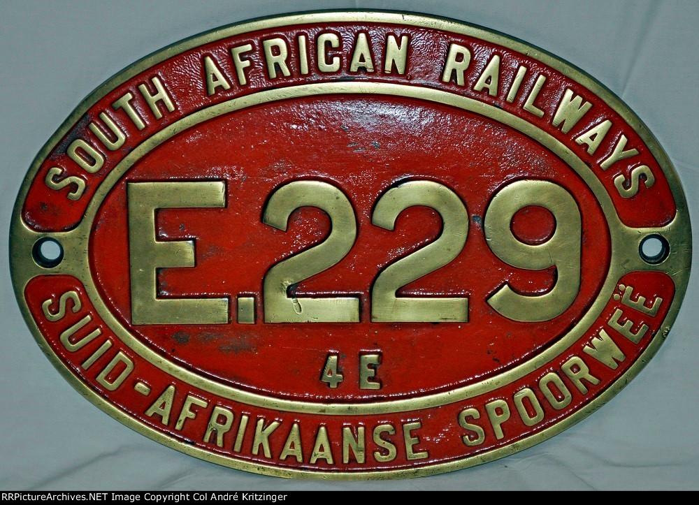 SAR Class 4E E229