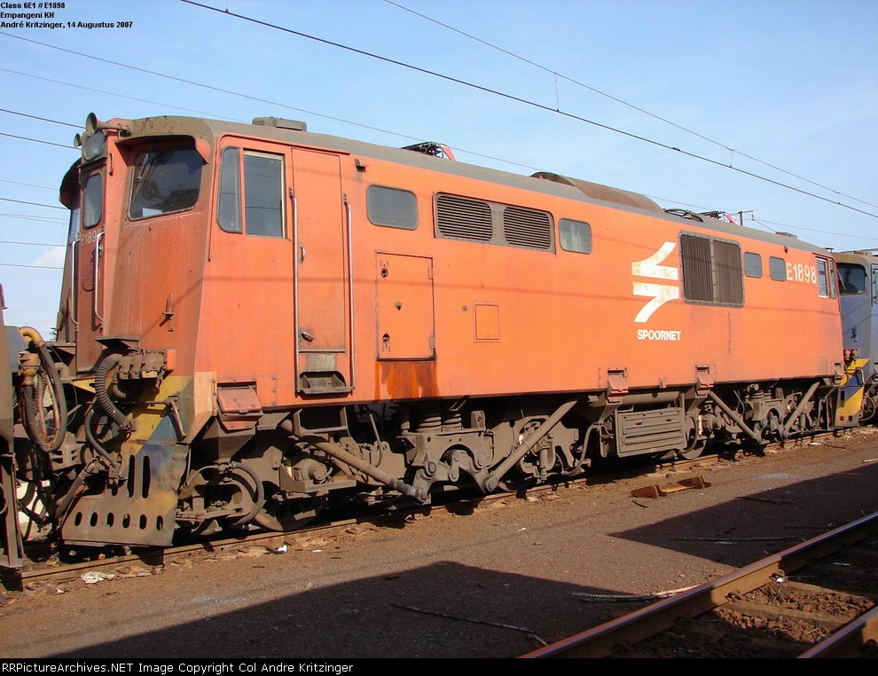 SAR Class 6E1 E1898 (Series 8)