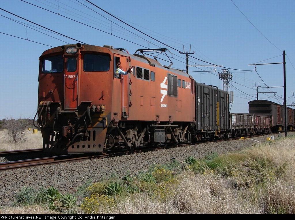SAR Class 6E1 E1557 (Series 5)