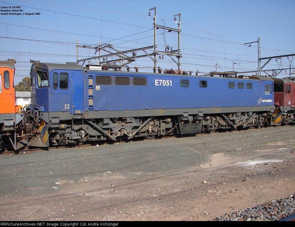 SAR Class 7E E7051