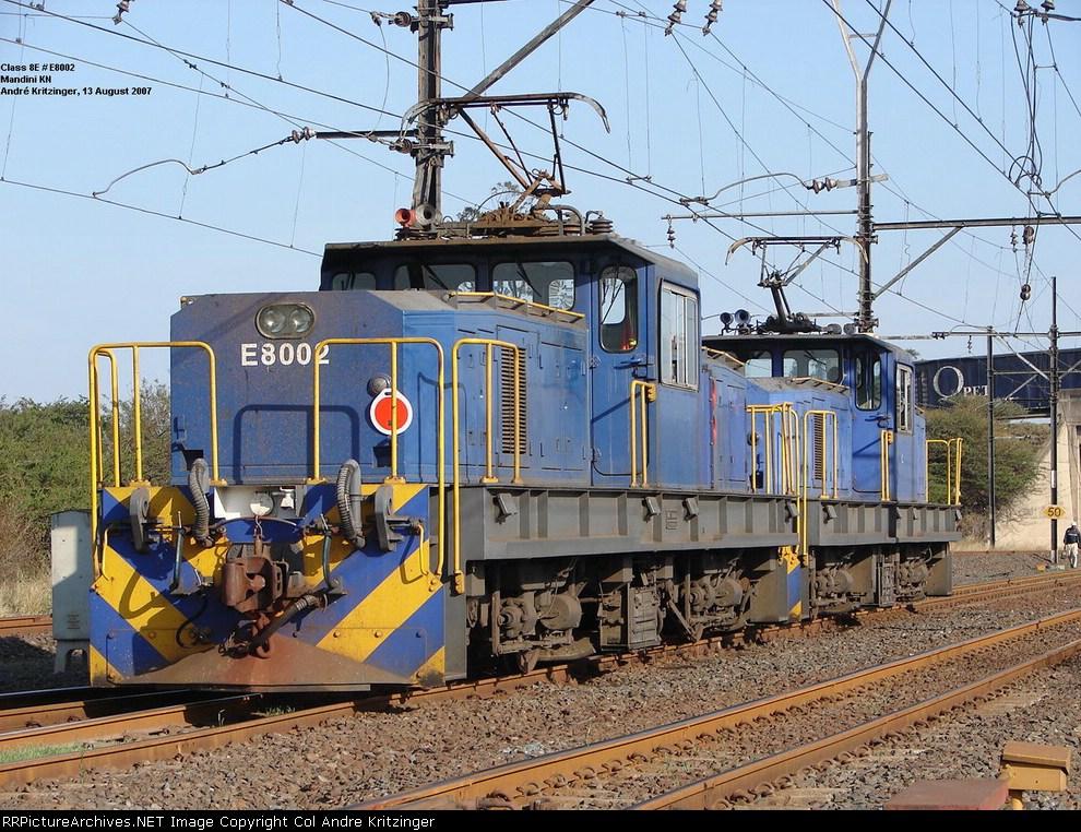 SAR Class 8E E8002