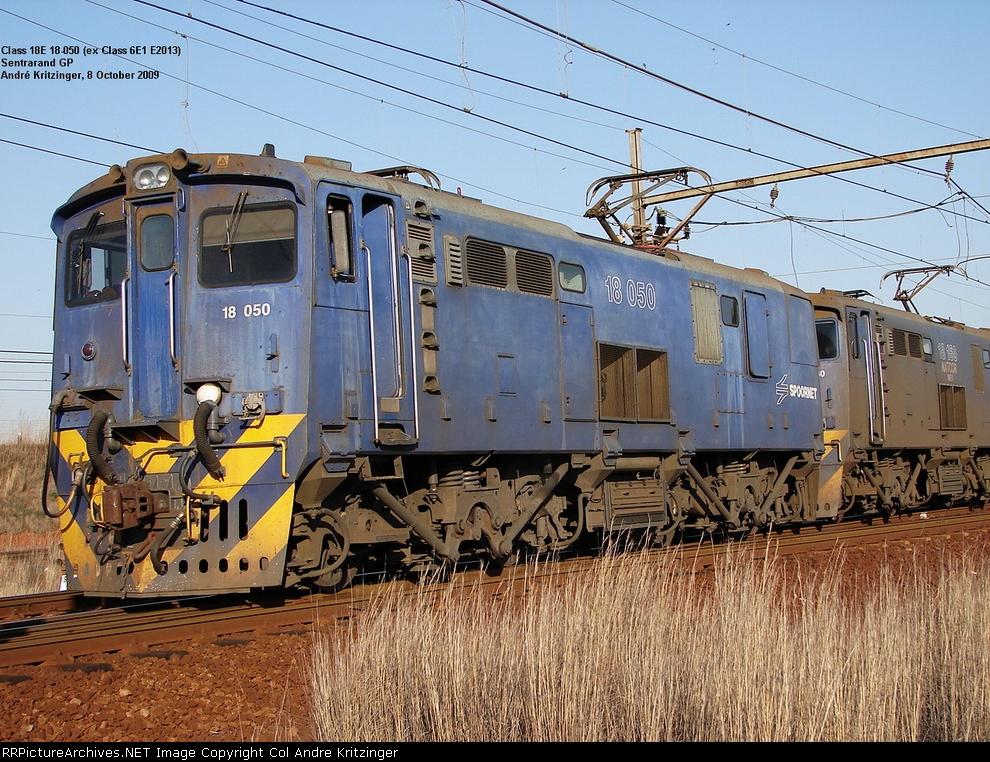 Spoornet Class 18E 18-050 (Series 1)
