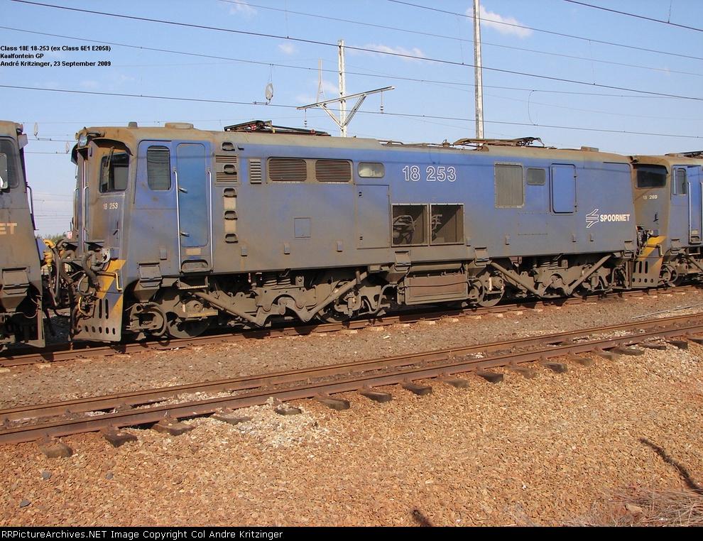 Spoornet Class 18E 18-253 (Series 1)