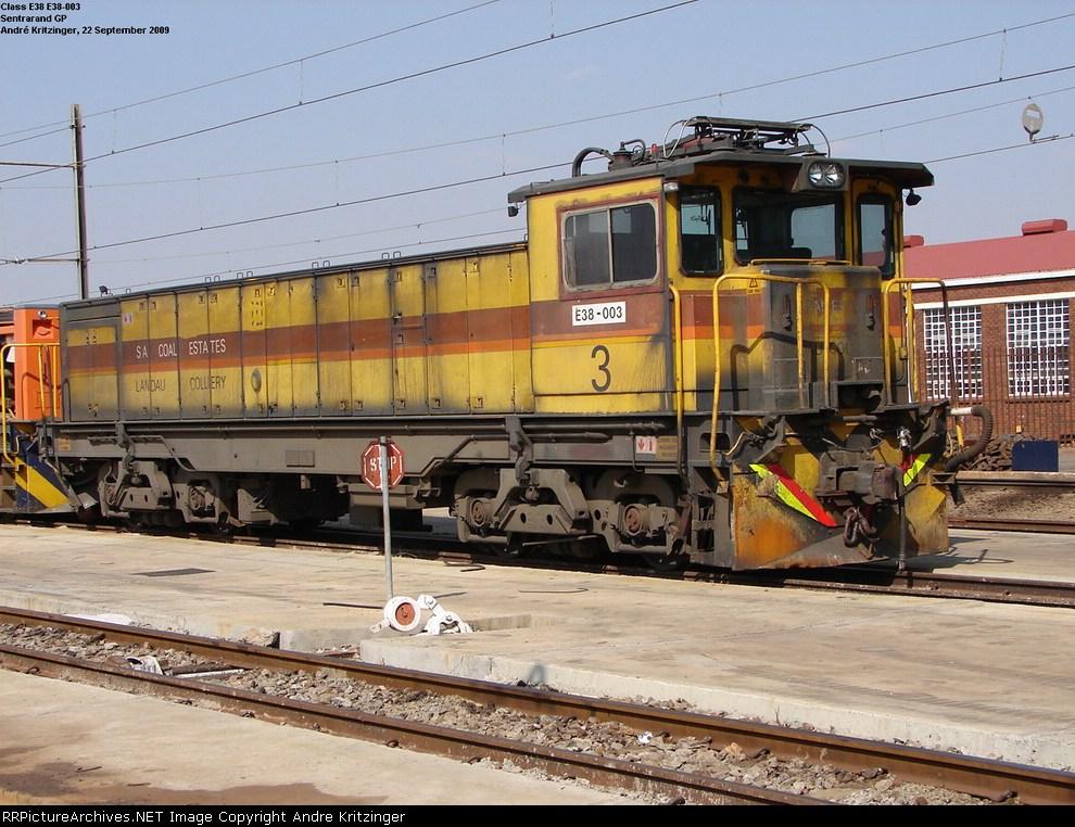 Amcoal Class E38 E38-003