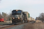 NS 213 rolls through Wellford