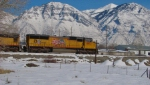 UNION PACIFIC SD70M NO.4872 PROVO,UTAH FEBRUARY 10,2008.