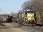 D700 pulls down the siding to double the Waverly pick up onto its train