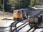 BNSF 5756 & KCS 4618