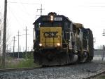CSX 8563 & 7503 power K357's coke loads towards Chicago