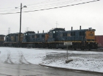 CSX 1301, 1300 and 2569 await their next assignments