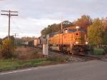 BNSF 9841 & KCS 4011 lead N903-18 east moments after sunrise
