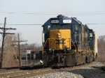 D700 pulls forward for headroom before backing into Waverly Yard