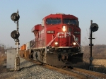 CP 8825 rolls through the signals with X500-13