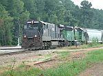 Train Q210 arrives