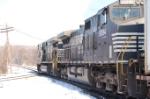 Westbound NS intermodal