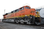 BNSF 6263 up close as she sits on the fuel pad at BNSF Lincoln Motor Works.