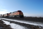 BNSF 7219 rolls thru thru rural Washington towards Hauser, Idaho with the Z PDL-CHI train.