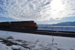 BNSF 7232 rolls west towards Pasco, Wa on her first revenue run with the Z-CHI-PDL.
