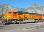 BNSF SD70MAC 9991,Provo,Utah July 12,2009.