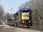CSX 7549 & 5498 head eastward again with Q326-03