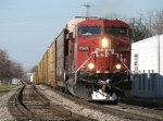CP 8548 rolls down Track 1 with X500-03