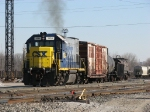 CSX 1534 spending some time working the west end of Wyoming Yard