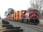 CP 8784 waits in the siding with X500-04