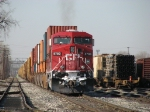 CP 8780 waits to go east with X500-11