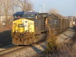 CSX 48 & 4717 roll into town with N908-17 under the late day sunshine
