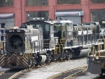 Norfolk Southern 2419 and 100