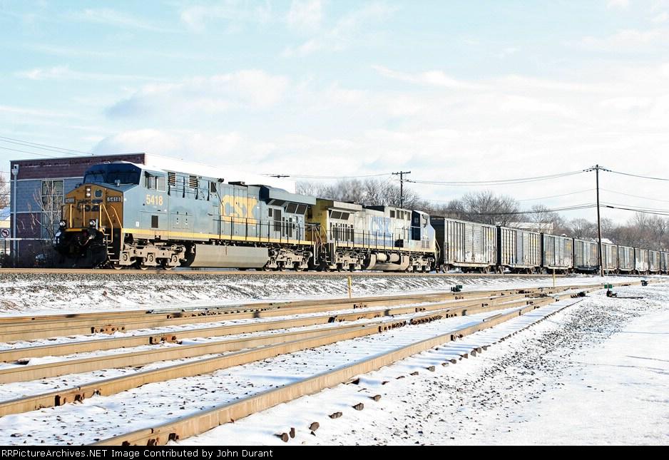 CSX 5418 on Q-438