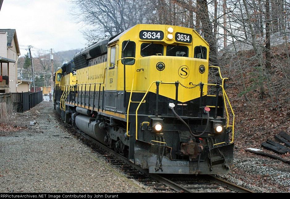 NYSW 3634 on SU-99