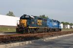 CSX 2624 and NS 5279