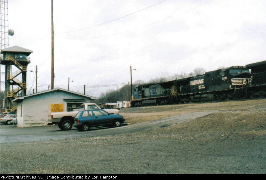 CSX at Asheville Tower