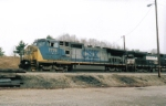 CSX 7779 in Asheville Yard! Taken on 03-28-05