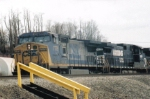 CSX and NS lash up