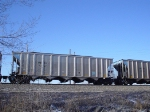 MBKX 5187 is an eb coal load downtown