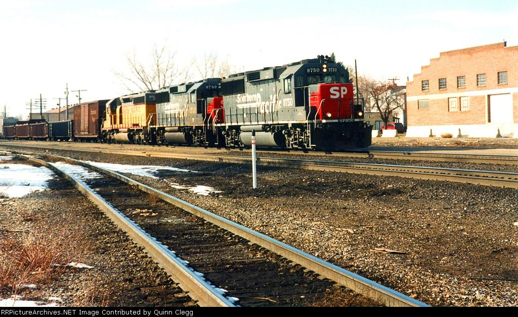 SP 9750/SP 9749/UP 3645 Provo,Utah February 8,1997.