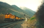 Southern Pacific's IPSNC Castilla,Utah April 22,1995.