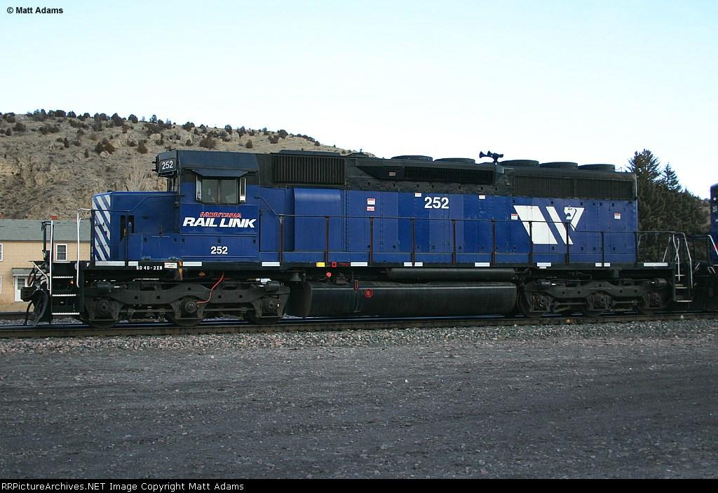 MRL SD40-2XR 252