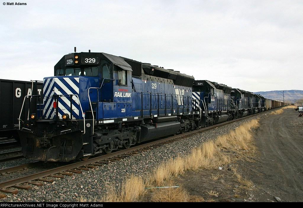 What a coal train SHOULD look like.....