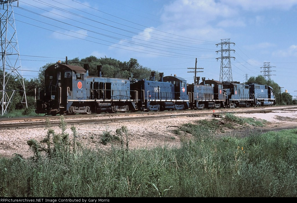 Missouri Pacific engines