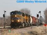 UP 5824  Westbound in Ames, Iowa