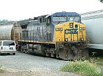 CSX 152 in the yard