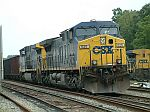CSX 525 and 401 bring up this coal train