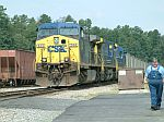 Coal Train waiting for a crew