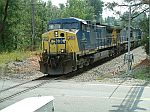 CSX 29 leads this NB coal train