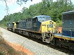 CSX 223 on a NB Coal train