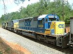 CSX 8409 on a NB Coal train